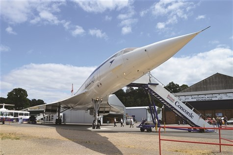 Concorde Experience at the Brooklands Museum