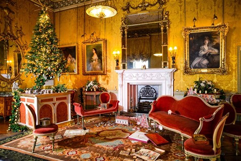 Harewood House 'Dressed for Christmas', Leeds