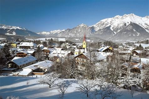 A wonderful shot of the snowy Austrian Tyrol.