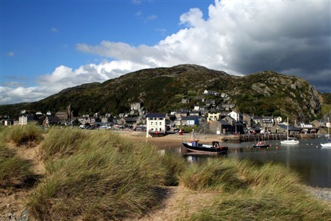 Barmouth in West Wales