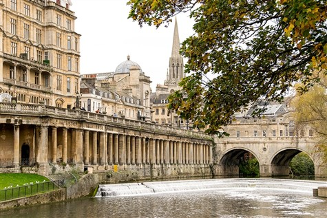 A view of the great city of Bath.