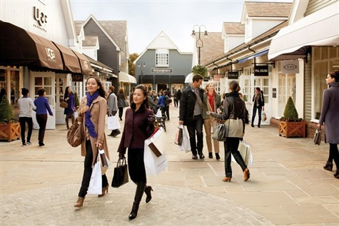 Bicester Shopping Village, Oxfordshire