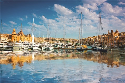 A Beautiful Malta harbour