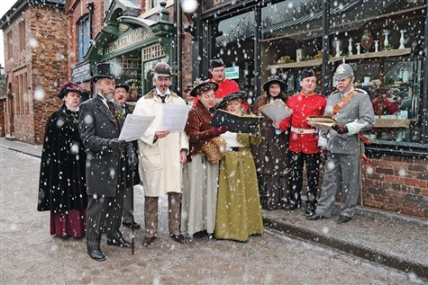 Blists Hill 'Victorian Christmas,' Shropshire