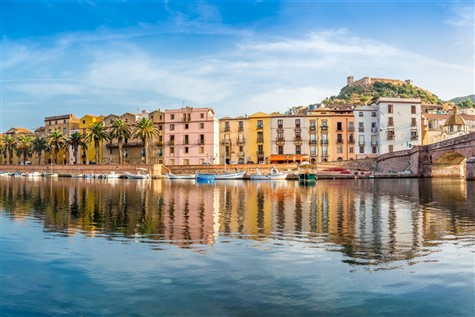 Beautiful Bosa in Sardinia
