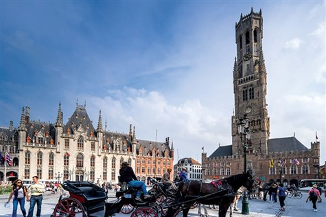 Christmas in Bruges at the 4-Star Academie Hotel