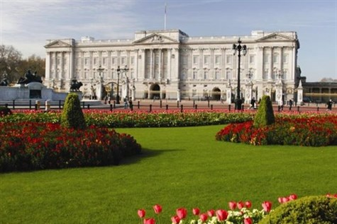 Buckingham Palace with a Thames Lunch Cruise