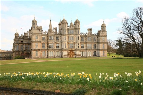 Burghley House & Stamford, Lincolnshire