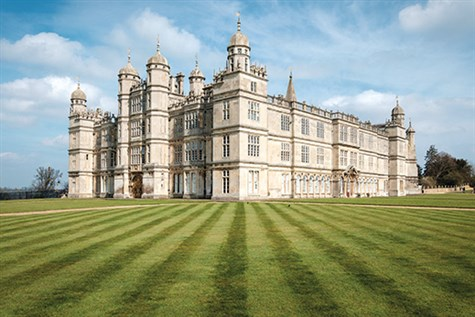 Burghley House With Afternoon Tea & Stamford