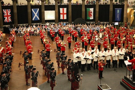 The Buxton Military Tattoo & National Arboretum