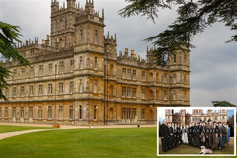 Highclere Castle 'Home of Downton Abbey'
