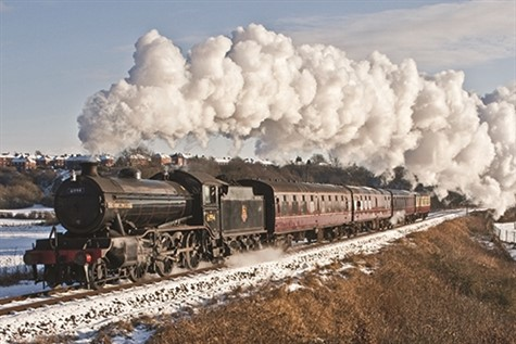 East Lancashire Railway with Christmas Lunch