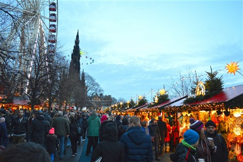 Scottish All Inclusive & Edinburgh Xmas Market