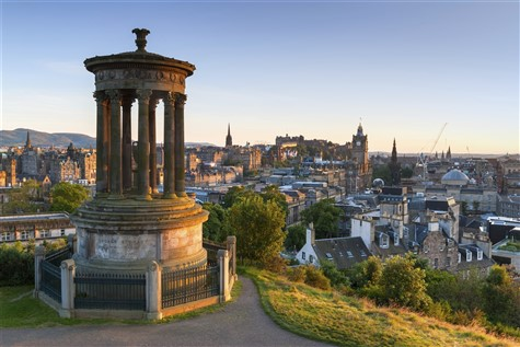 Enchanting Edinburgh landscape