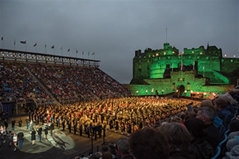 The Highlands & The Edinburgh Tattoo