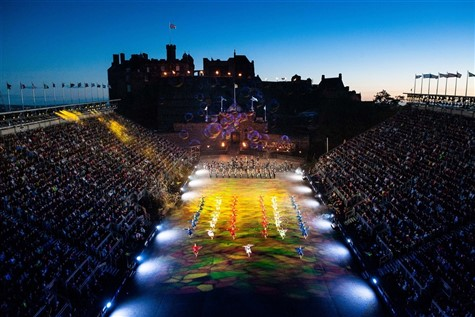 The Edinburgh Tattoo, Keavil House Hotel 2021