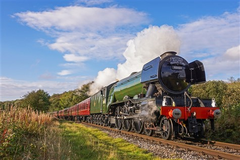 Flying Scotsman at the East Lancs Railway