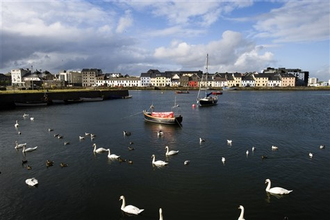 A stunning shot of Galway's Lough Atalia.