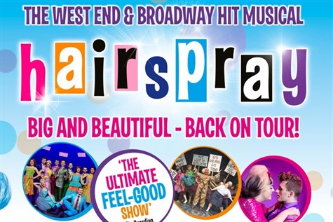 Hairspray at the Aylesbury Waterside Theatre