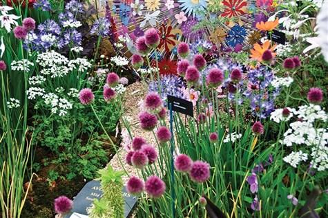 Hampton Court International Flower Show in London