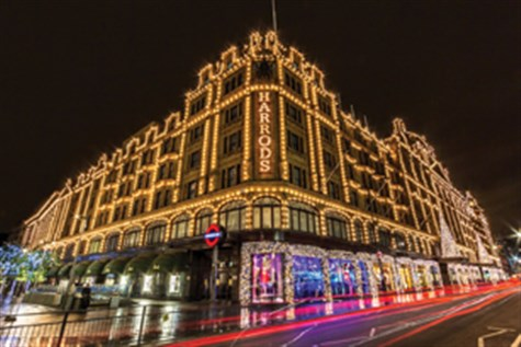 Harrods Christmas Shopping with Afternoon Tea