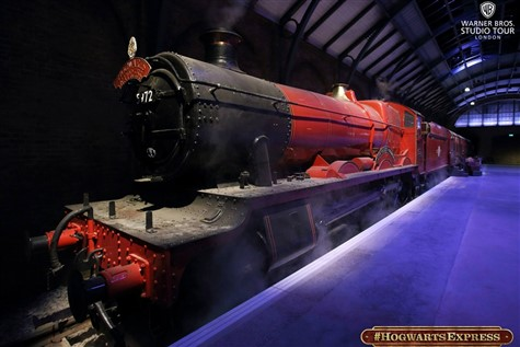 Hogwarts Express at the Harry Potter Studio Tour