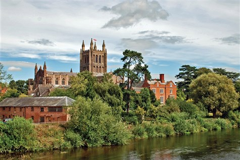 Hereford With A Guided Walking Tour