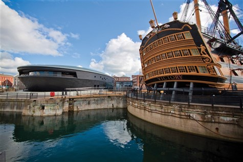 Portsmouth Historic Dockyard, Hampshire