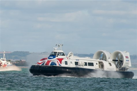 Hovercraft 'VIP Experience' & Ryde, Isle of Wight