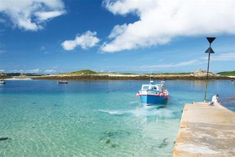 Enchanting Isles of Scilly by Air