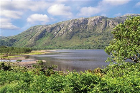 Loch Maree in Scotland