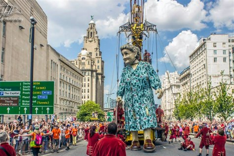 Lost Giants, Liverpool - 'The Final Farewell'