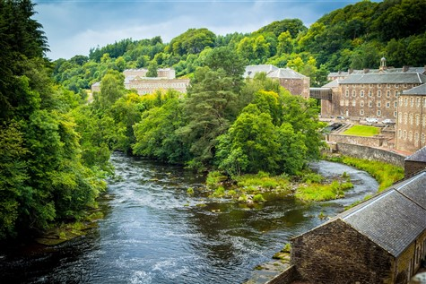 A 5 Day Escorted Coach Holiday to the New Lanark Mill & the Falls of Clyde in Scotland with Johnsons