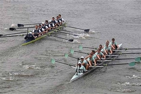 Oxford vs Cambridge Boat Race 2019 - London