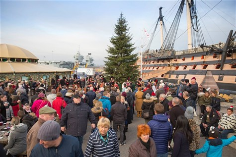 Portsmouth Historic Dockyard Christmas Festival