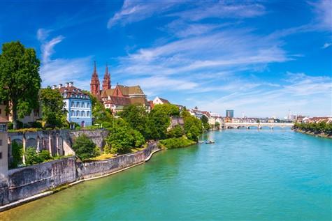 River Rhine, Switzerland