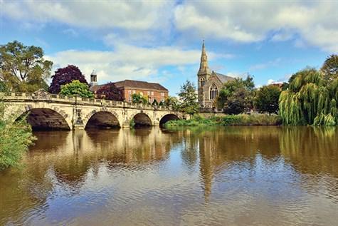 Shrewsbury and River Cruise