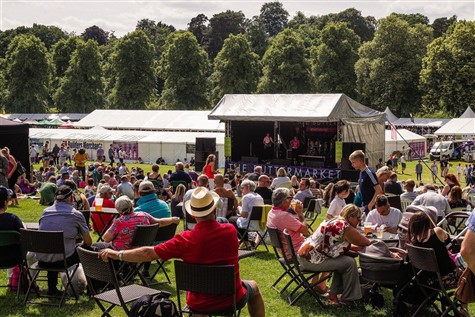 Shrewsbury Food Festival & Cruise, Shropshire