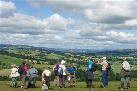 Active Traveller - The Shropshire Hills Walking