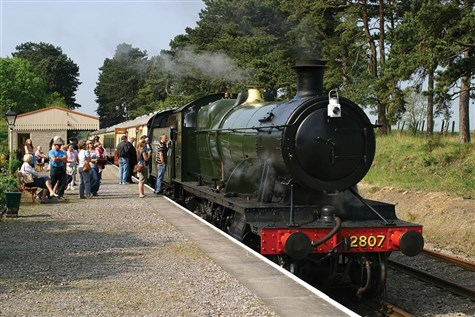 Steaming through the Cotswolds & Cheltenham