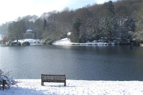 Stourhead (NT) 'Dressed for Christmas'