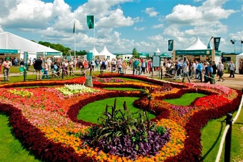 Tatton Park Flower Show in Cheshire