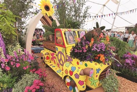 Taunton Flower Show, Somerset