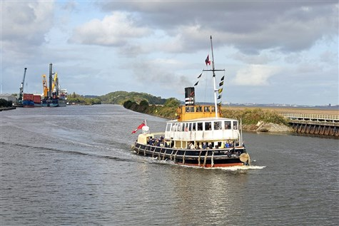 The River Weaver Steam Ship Cruise