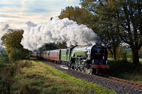 Tornado at the East Lancs Railway