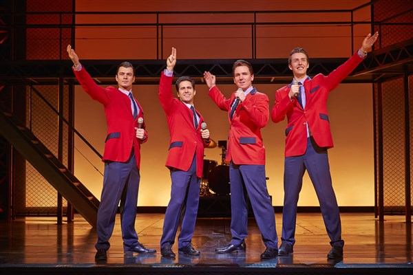 Jersey Boys at Milton Keynes Theatre