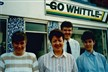 The Whittles team back in the day!