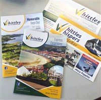 Whittles NEW Summer Days Out brochure