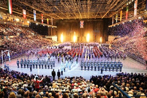 Birmingham International Tattoo, The Arena