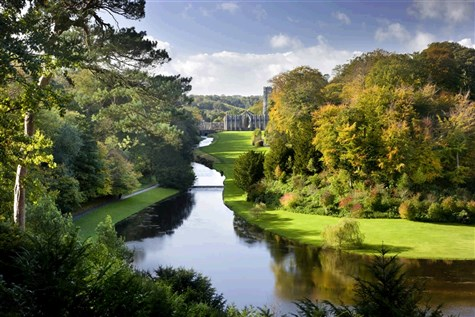 Fountains Abbey & Studley Royal with Afternoon Tea